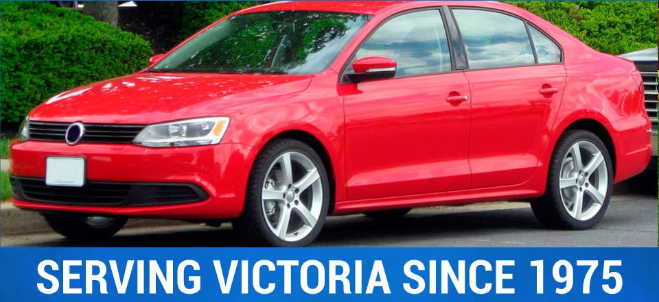 Serving Victoria Since 1975 | red car